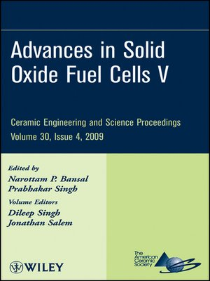cover image of Advances in Solid Oxide Fuel Cells V